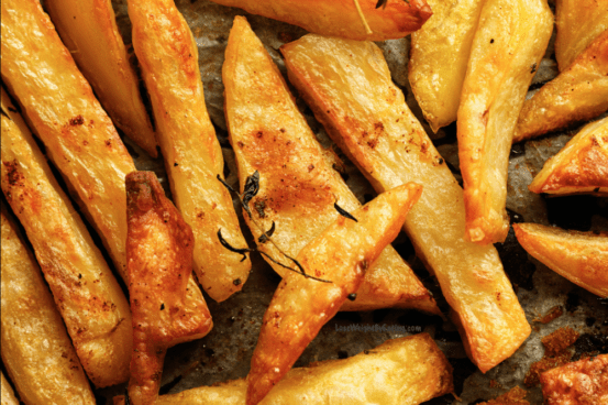 Oven Baked French Fries Recipe