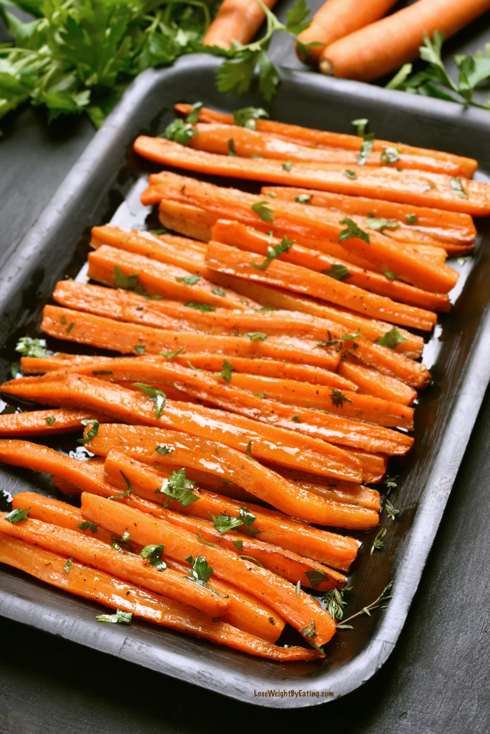 Oven Roasted Carrots Recipe The 20 Best Healthy Holiday Recipes