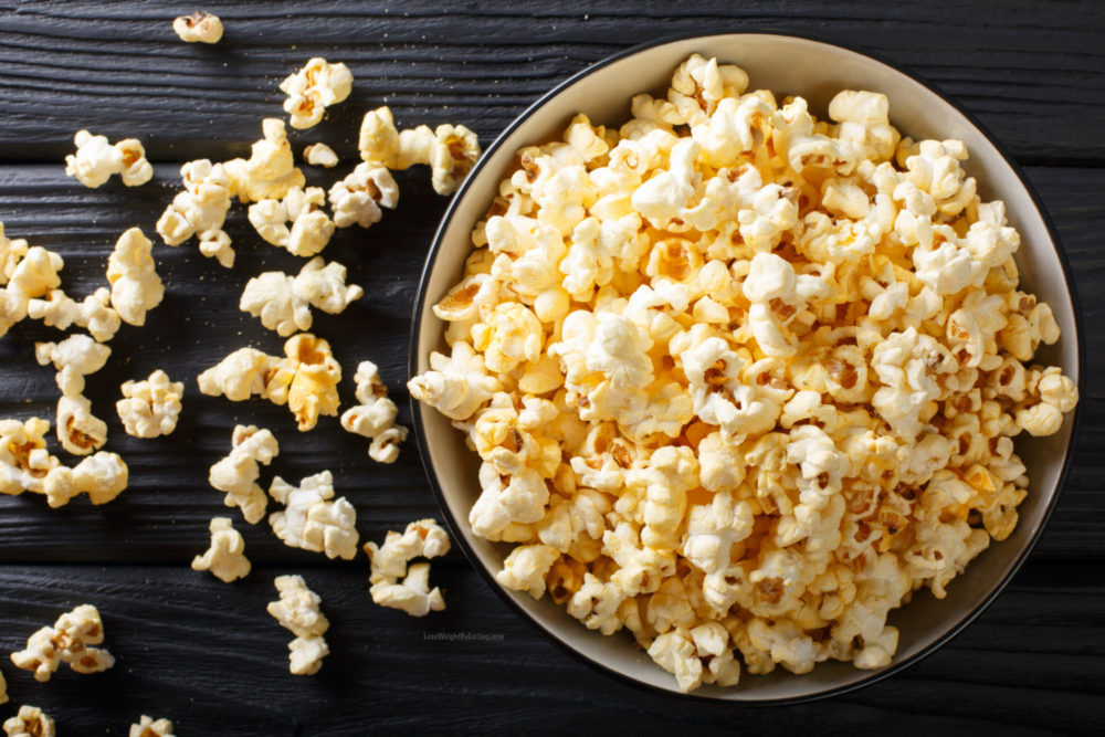 Homemade Stovetop Popcorn Recipe