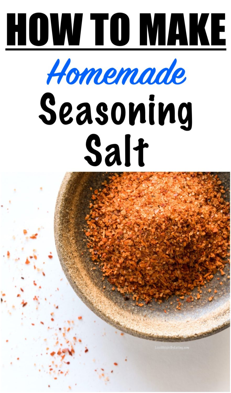 how to make seasoning salt homemade