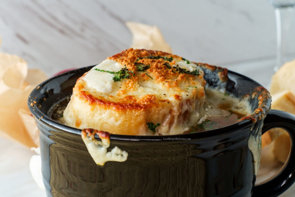 How to Make Healthy French Onion Soup
