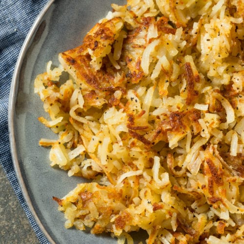 Low Calorie Homemade Hash Browns Recipe