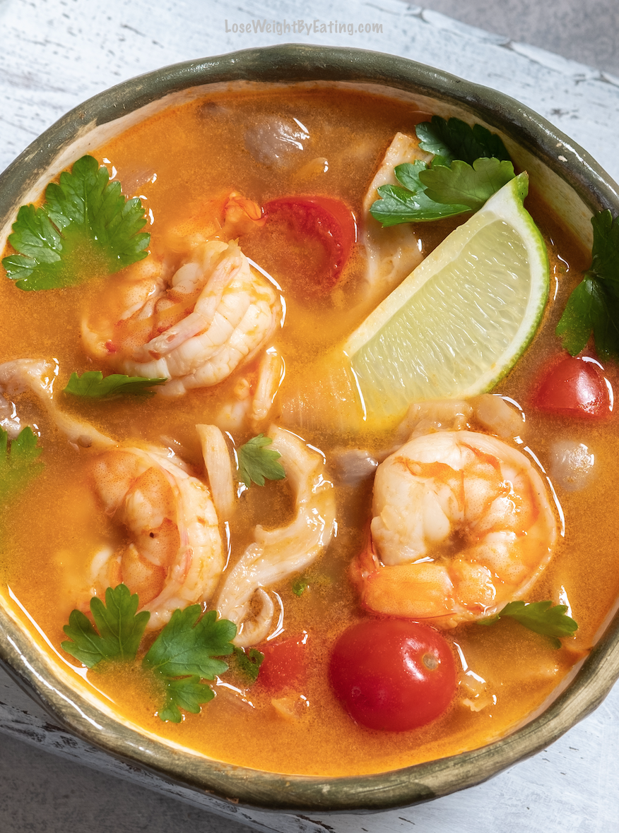 Tom Yum Soup Recipe Thai Hot and Sour Soup