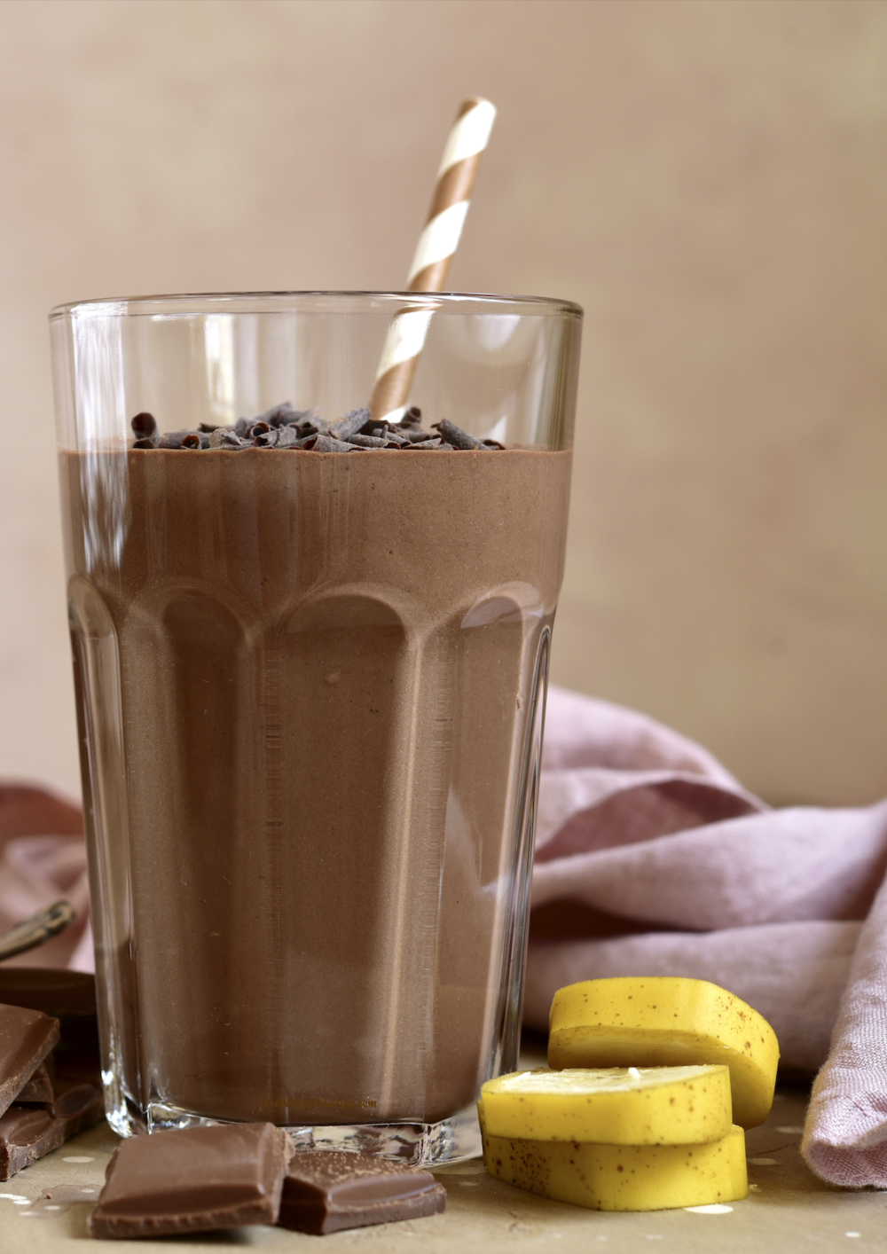 Chocolate Oatmeal Smoothie for Weight Loss