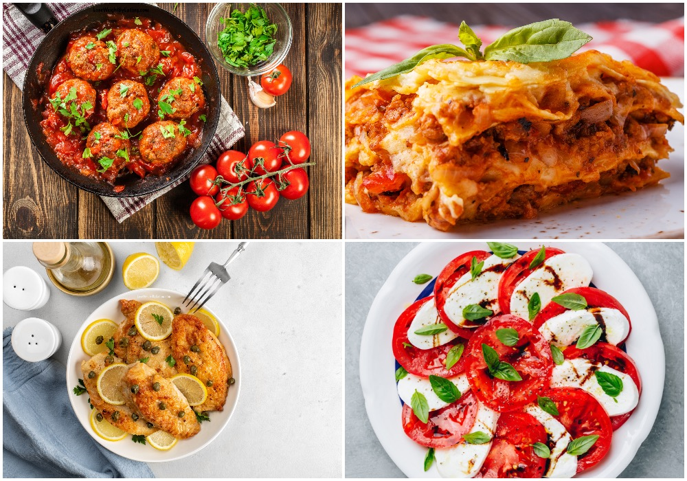 Recipes for Italian Food for Healthy Dinners