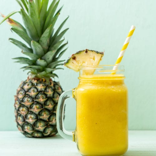 Healthy Pineapple Smoothie Recipe