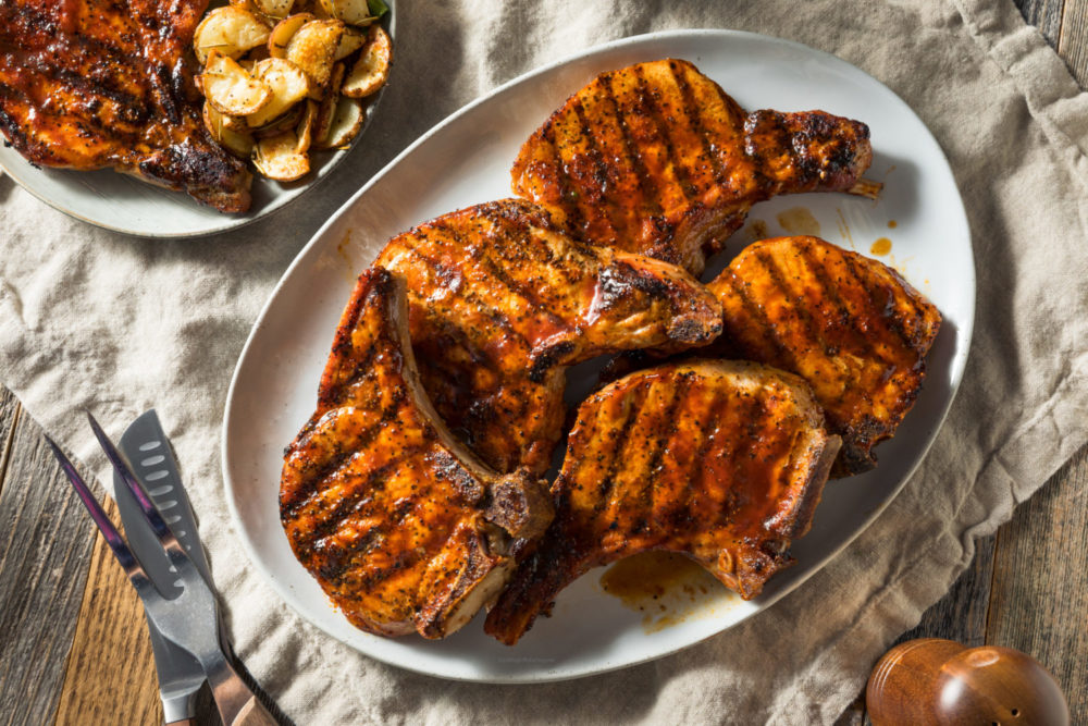 Perfectly Grilled Pork Chops Recipe