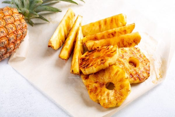 Healthy Recipe for Grilled Pineapple