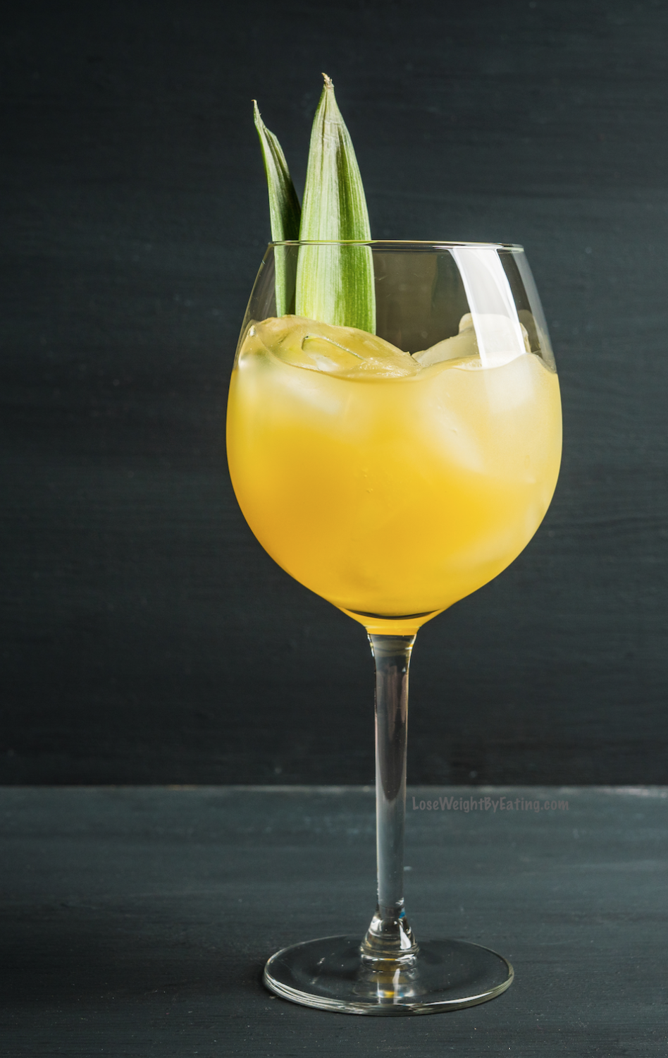 Pineapple Juice and Vodka Cocktail