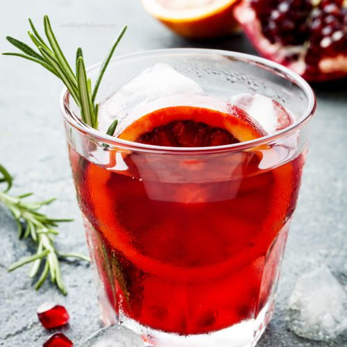 Pomegranate and Blood Orange Cocktail with Vodka