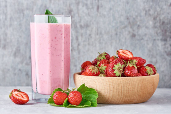 Strawberry Protein Shake to Lose Weight