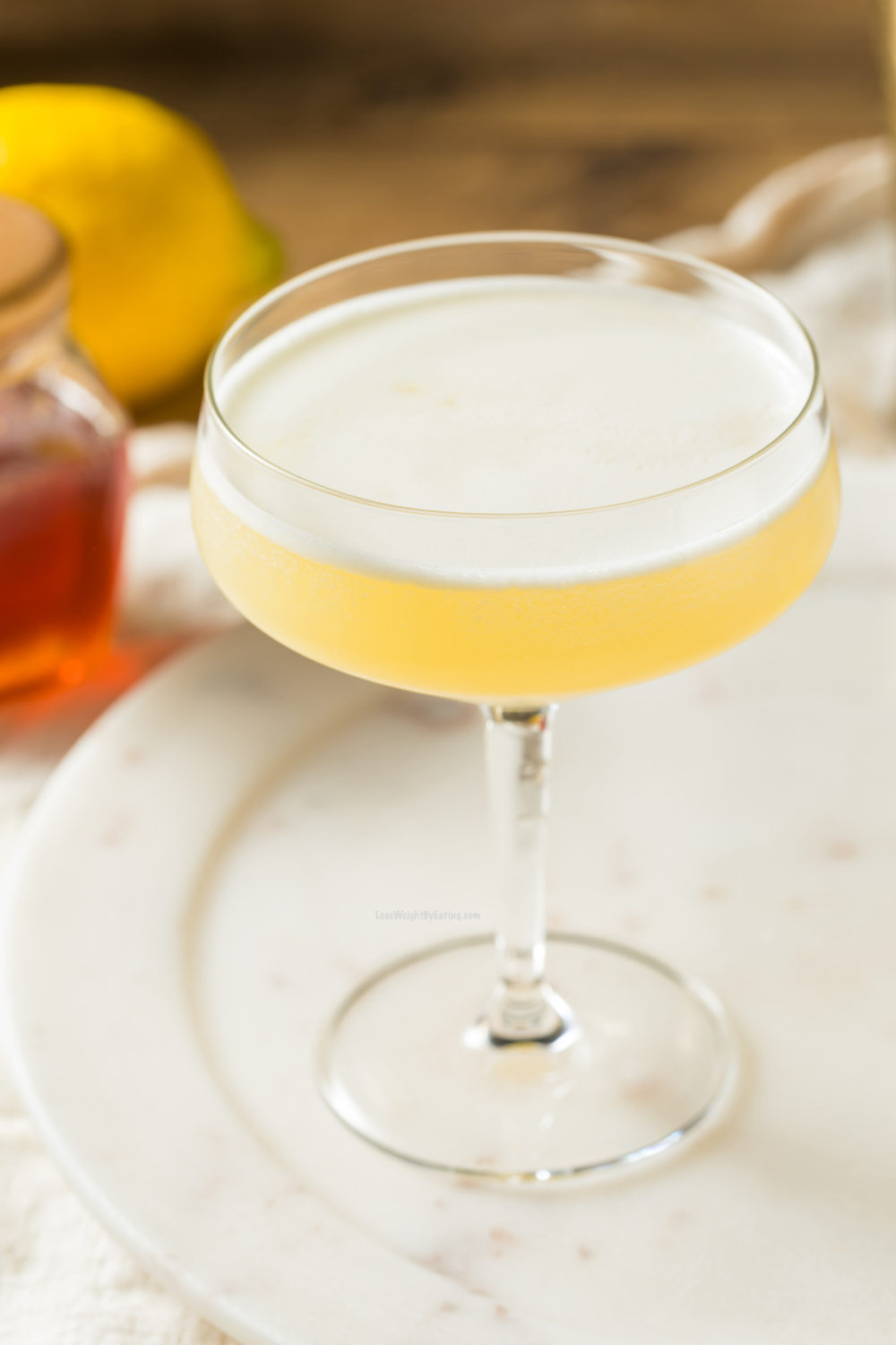 Low Calorie Bees Knees Cocktail Recipe
