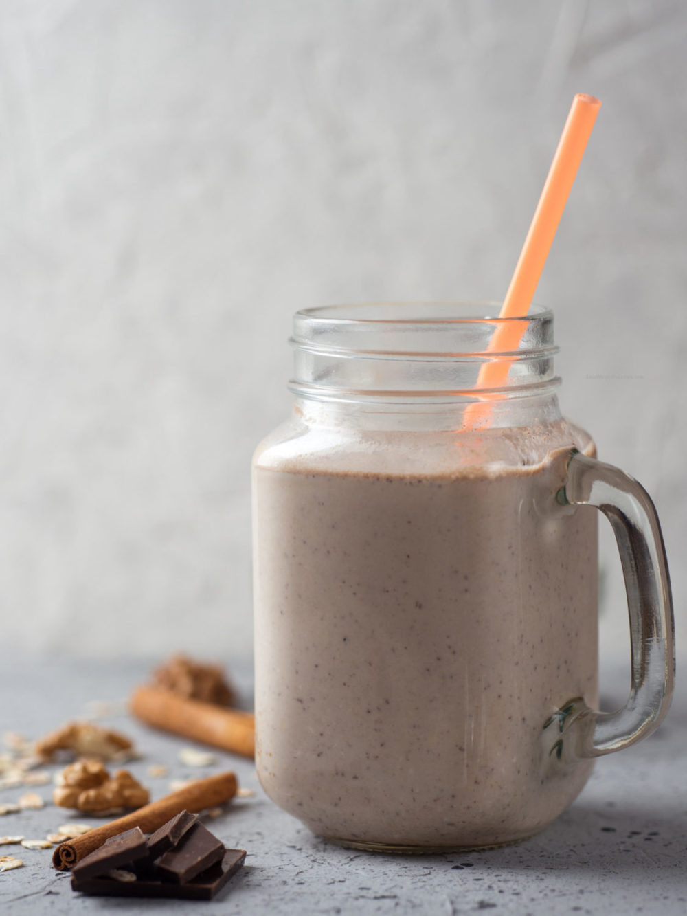 Chocolate Coffee Protein Shake for Weight Loss