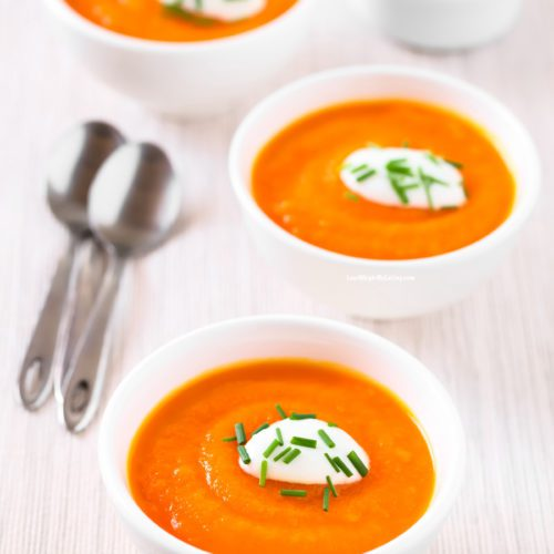 Slow Cooker Creamy Carrot Soup Recipe