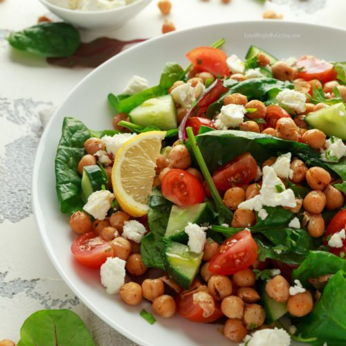Healthy Recipe for Chickpea Salad