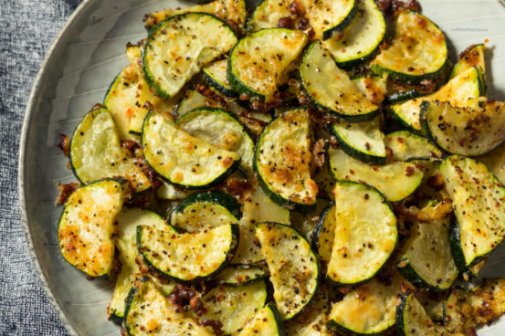 Ranch Flavored Oven Baked Zucchini